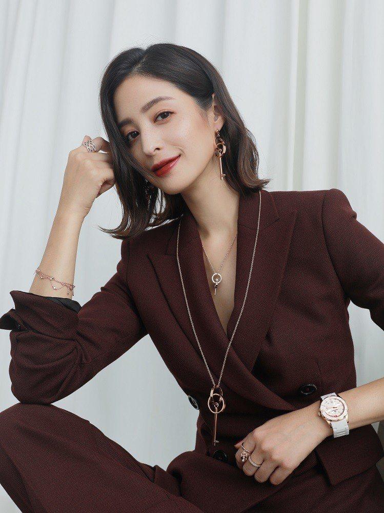 希臘時尚品牌Folli Follie 於2018年秋冬邀請人氣女星莫允雯擔任Fo...
