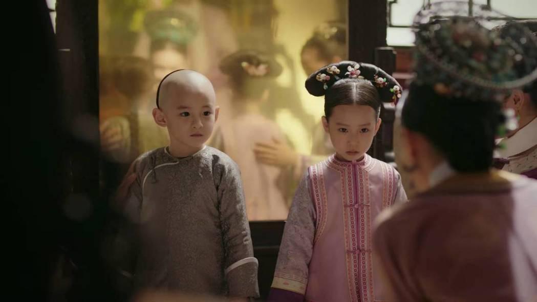 周迅在「如懿傳」中一度兒女雙全。圖/截圖自愛奇藝台灣站