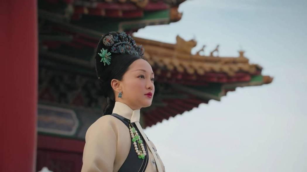 周迅飾演的「如懿」堪稱最慘皇后。圖/截圖自愛奇藝台灣站
