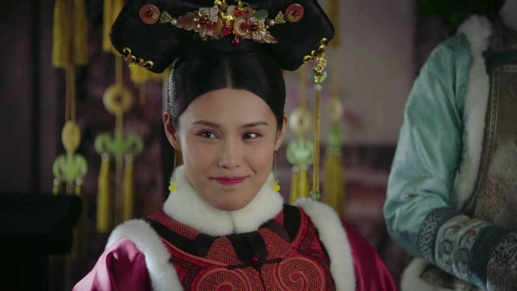 韓丹彤飾演「儀嬪」。圖/截圖自愛奇藝台灣站