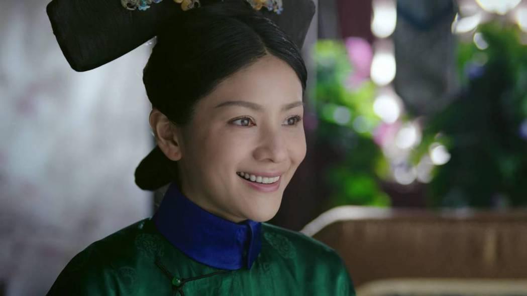 胡可飾演「純貴妃」。圖/截圖自愛奇藝台灣站