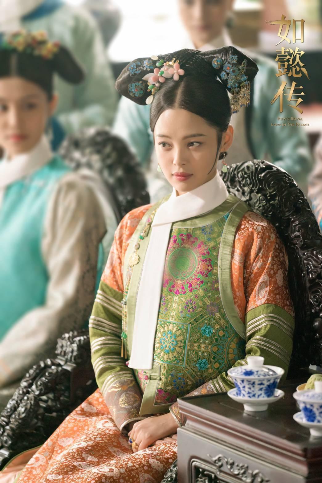 辛芷蕾飾演「嘉貴妃」。圖/摘自微博