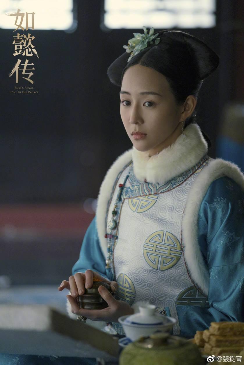 張鈞甯PO出「如懿傳」劇照懷念角色。圖/摘自微博