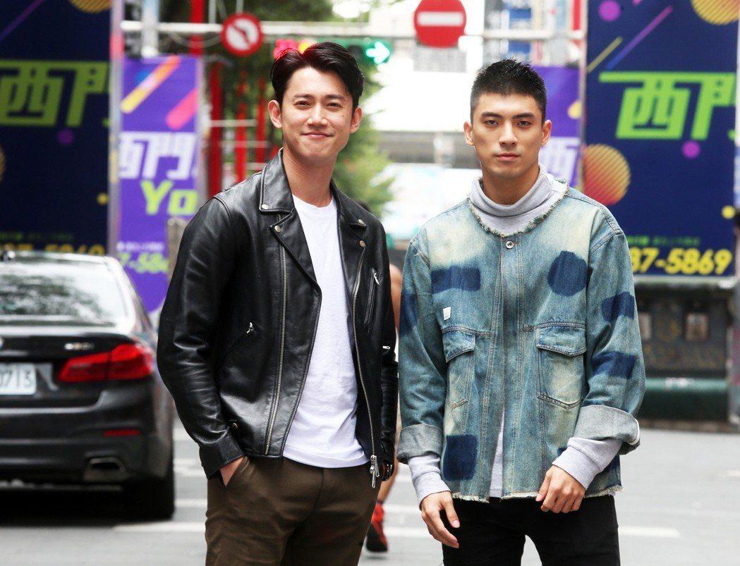 「狂徒」吳慷仁(左)、林哲熹(右)專訪。記者徐兆玄/攝影