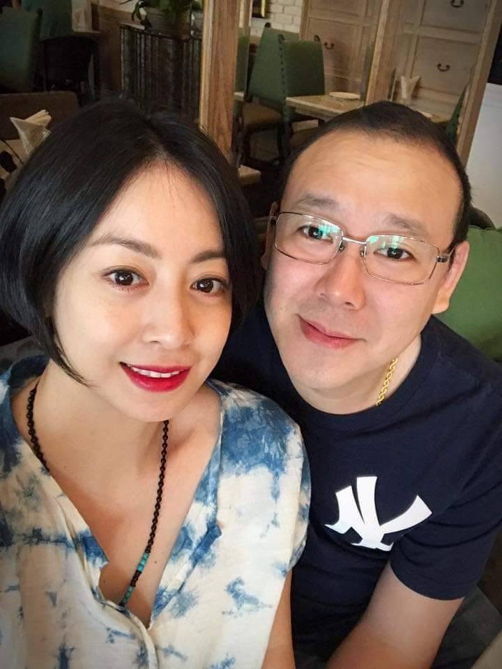 范筱梵夫妻。圖/摘自臉書