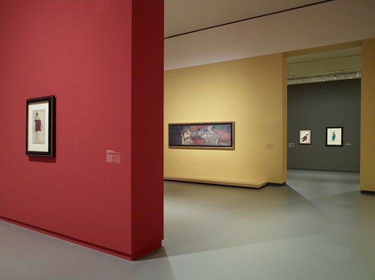 路易威登藝術基金會的展場動線、牆面等規劃也很有可看性。圖/LV提供