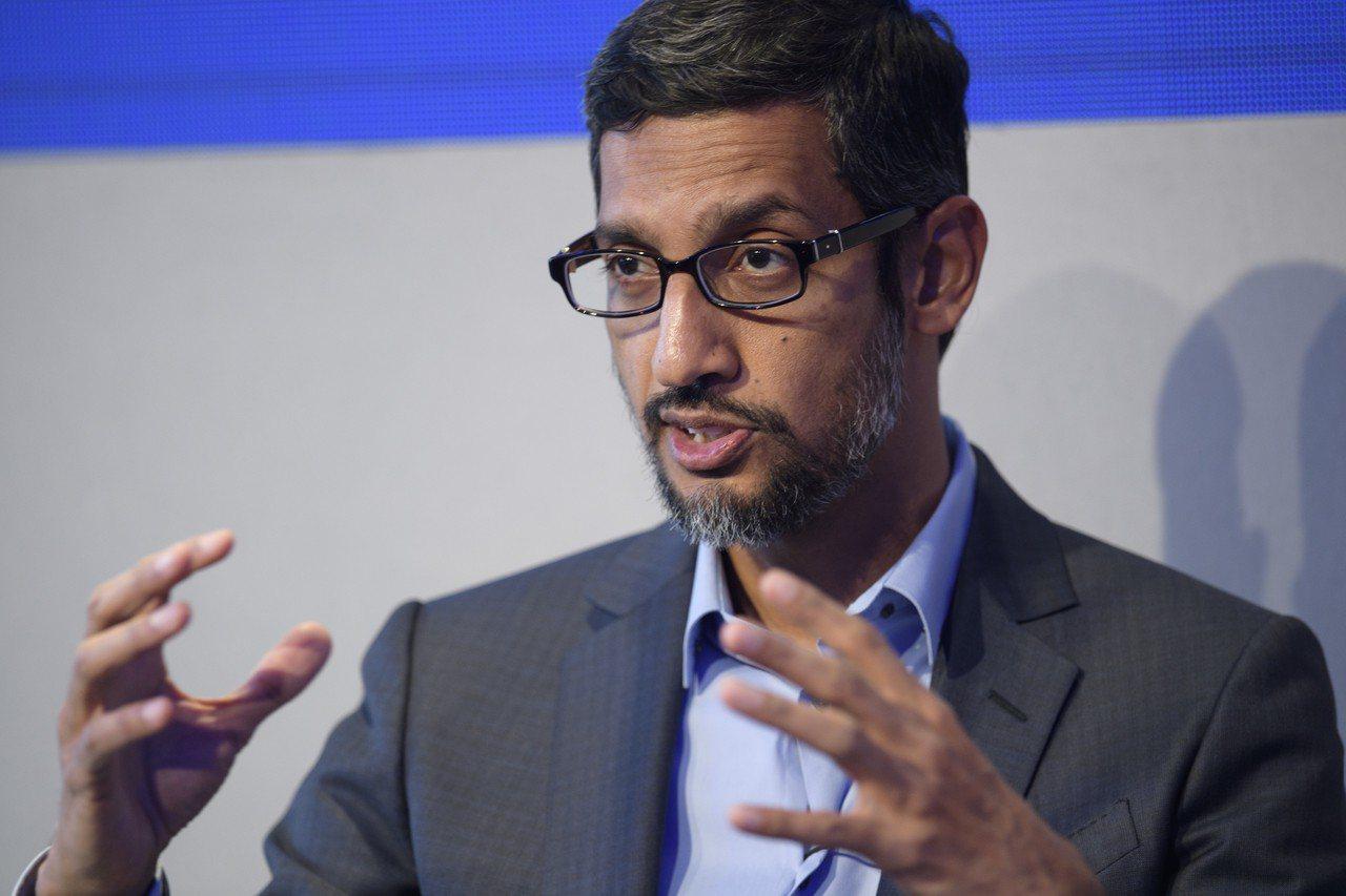 網路搜尋巨擘谷歌(Google)執行長皮查伊。 歐新社