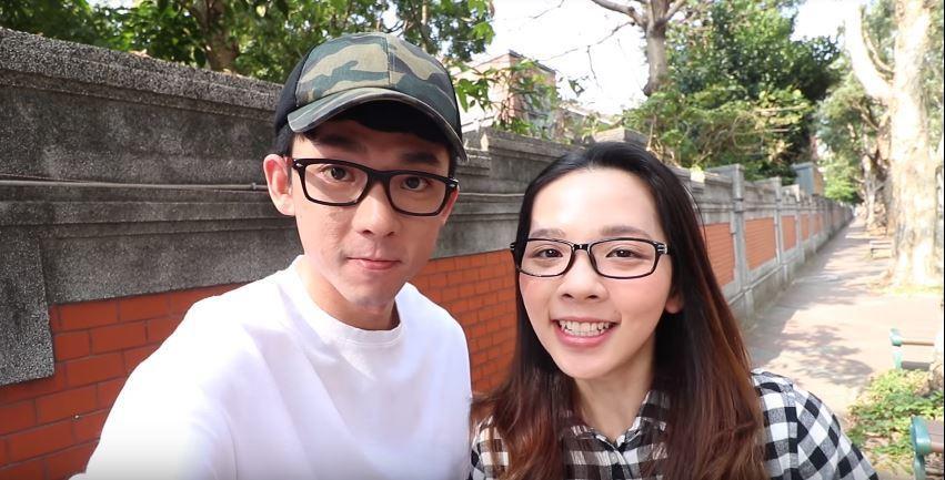 阿滴(左)和滴妹是網路知名Youtuber,兩人都有許多的粉絲。 圖片來源/阿滴...