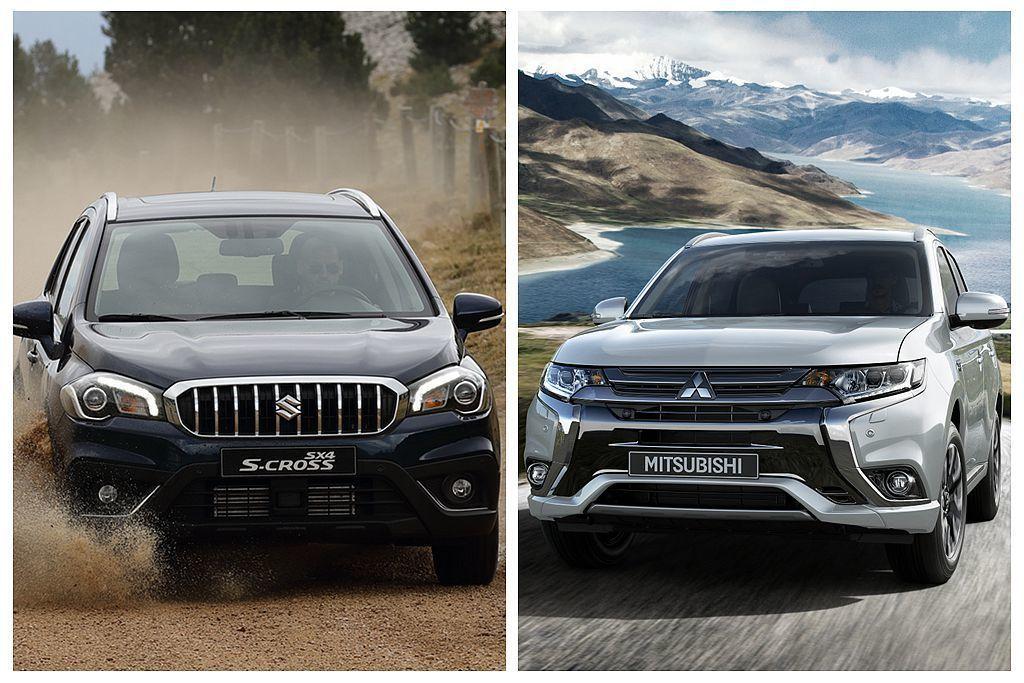 繼Toyota、Nissan汽車後,Suzuki以及Mitsubishi也決定要退出歐洲柴油乘用車市場。 圖/Suzuki、Mitsubishi提供