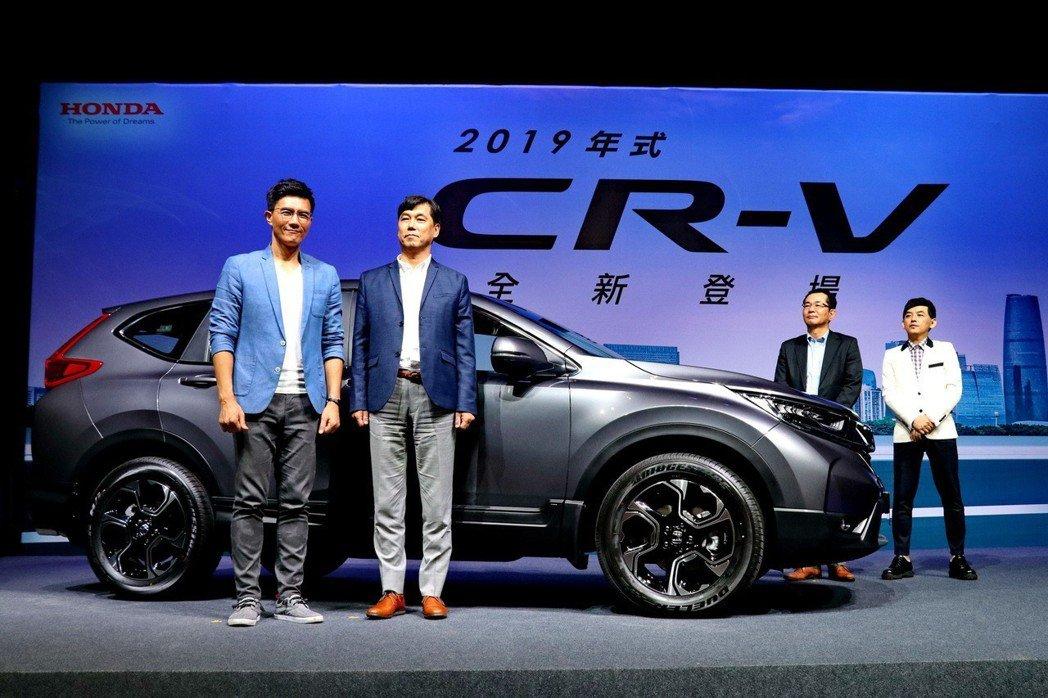 第五代Honda CR-V的年販目標調整為2萬輛。 記者陳威任/攝影