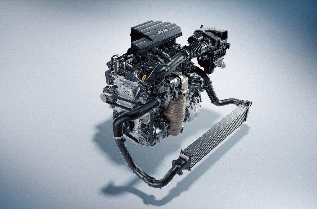 2019年式CR-V配置1.5L VTEC Turbo渦輪增壓引擎。 圖/台灣本田提供