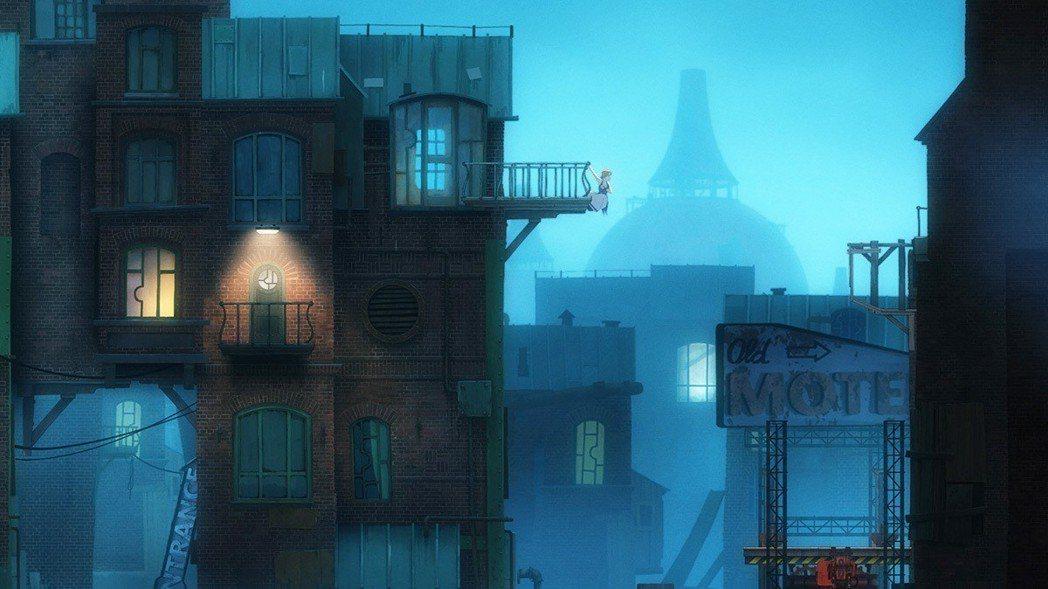 遊戲冒險的舞台「被遺忘國度」是個有點兒蒸氣龐克風格的地方,很有18世紀工業革命味...