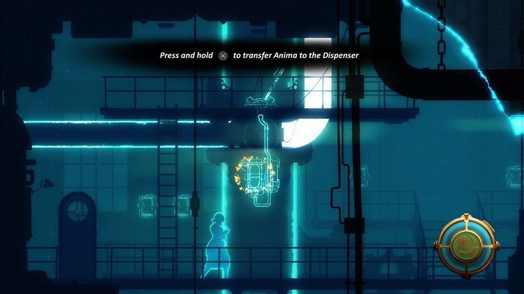 主角安妮獨有的能力,可以從其他地方獲得生命能量Anima,並且灌注到其他物品上,...