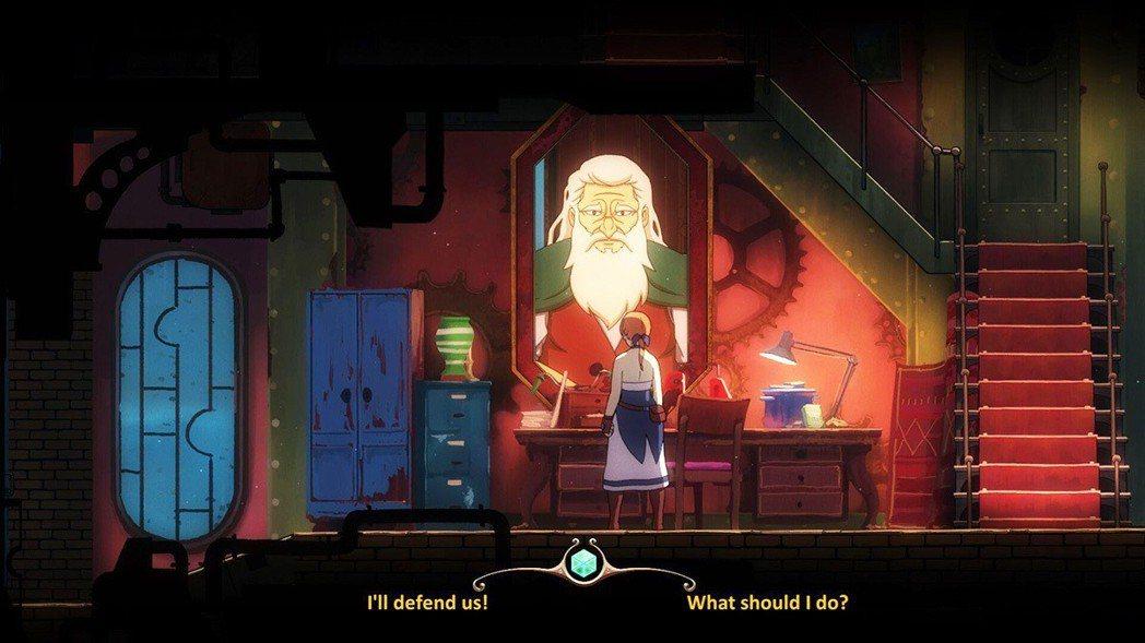 玩家在與各個NPC角色進行對話時,常常會有選項出現,可得好好選擇,因為那會影響劇...