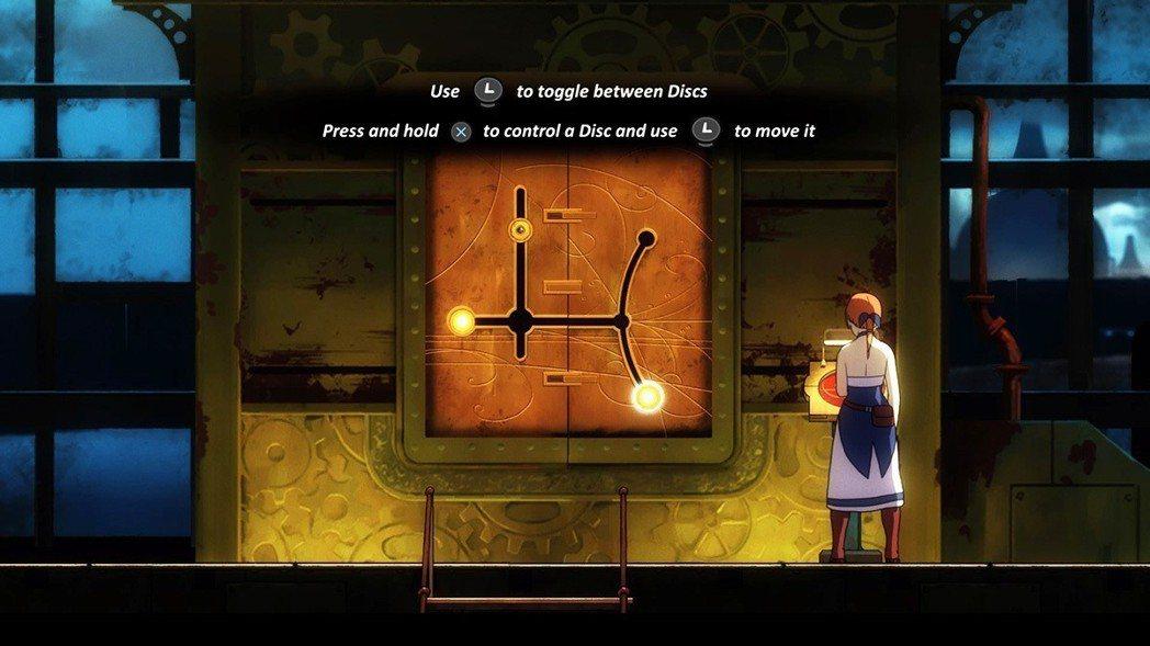 除了利用注入Anima啟動機關的方式以外,偶爾也需要進行解謎。