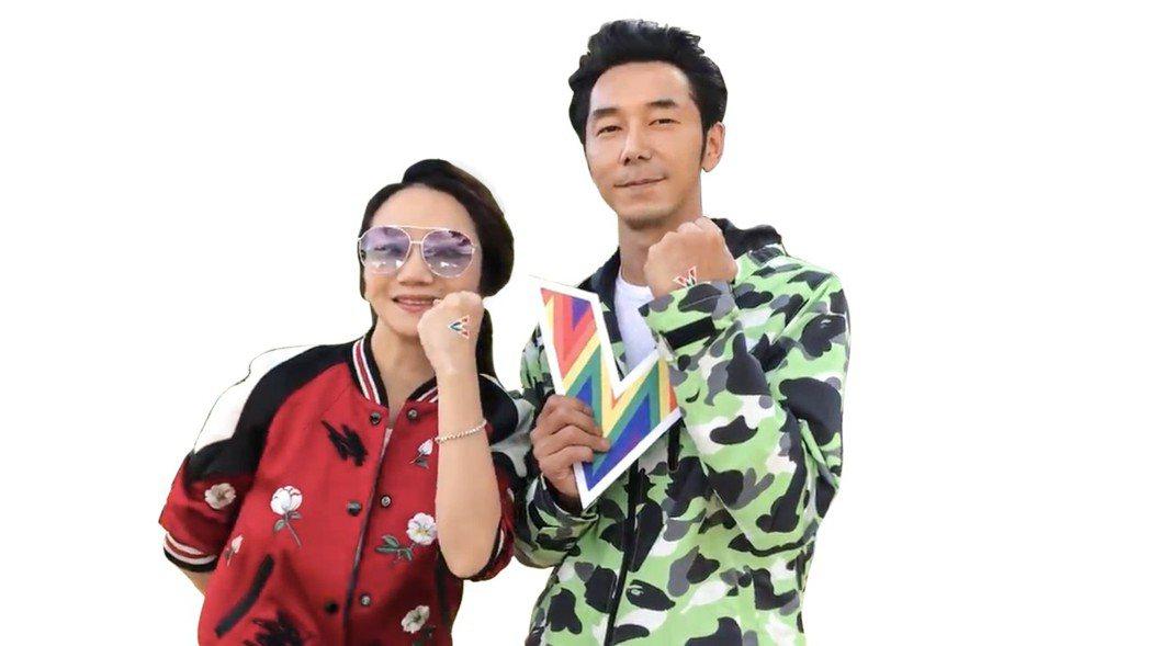 陶晶瑩、李李仁。圖/愛最大提供