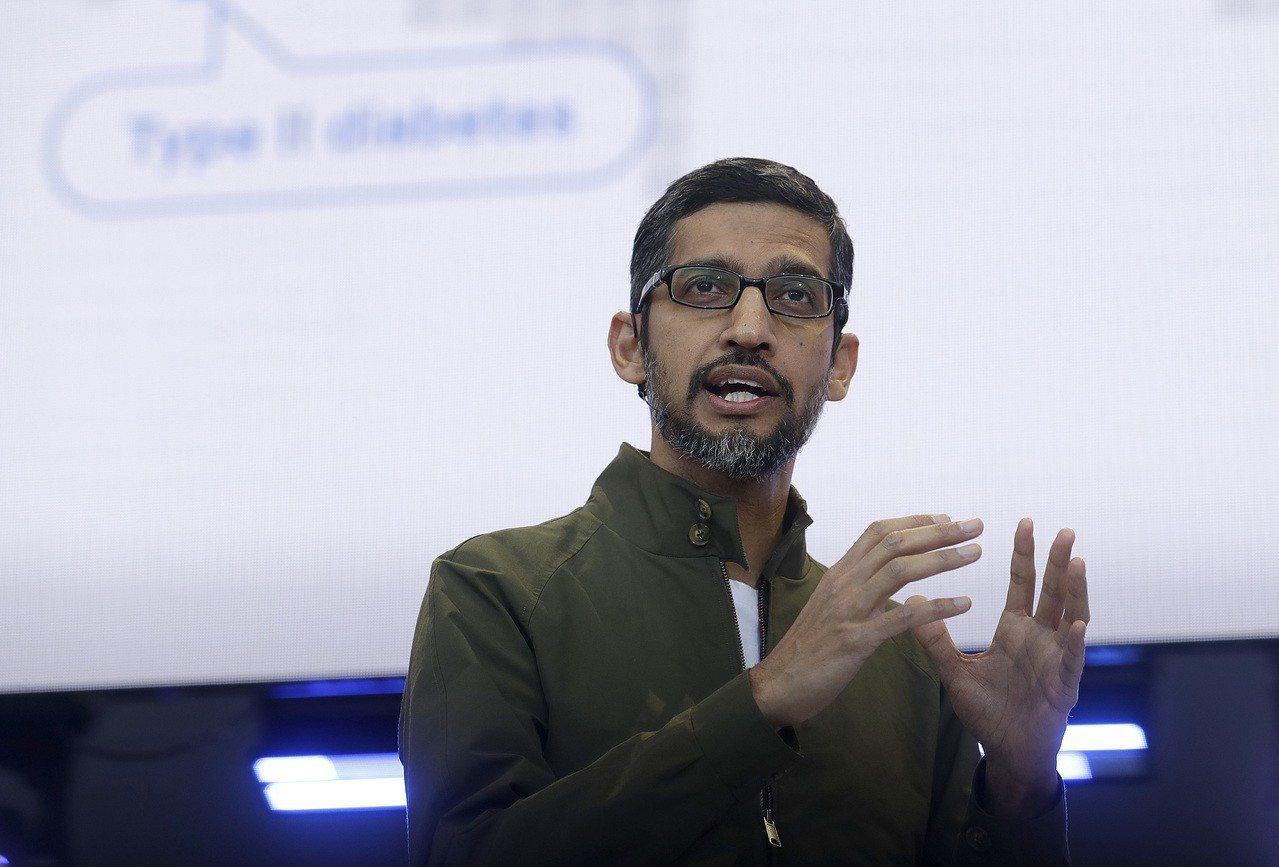 谷歌執行長皮查伊15日表示,公司內部研發中國版審查搜尋引擎,但可能不會推出。美聯...