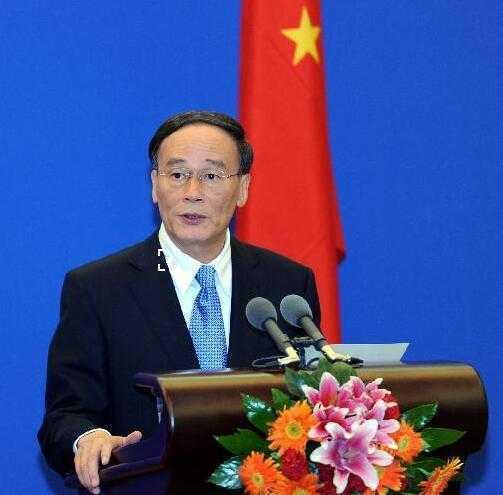 大陸國家副主席王岐山6日在新加坡創新經濟論壇上發表主題演講,表示中方反對單邊主義...
