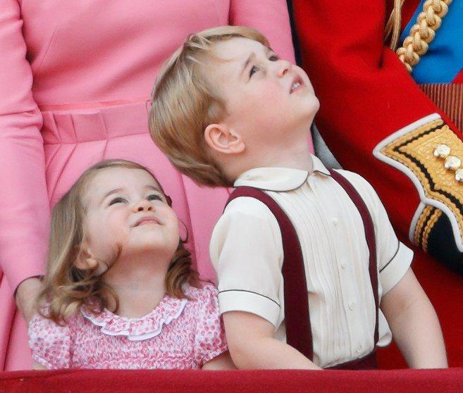夏綠蒂公主和喬治王子都是超強「帶貨王」。圖/摘自justjared.com