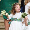 愛笑的小女孩!夏綠蒂小公主萌照融化粉絲心