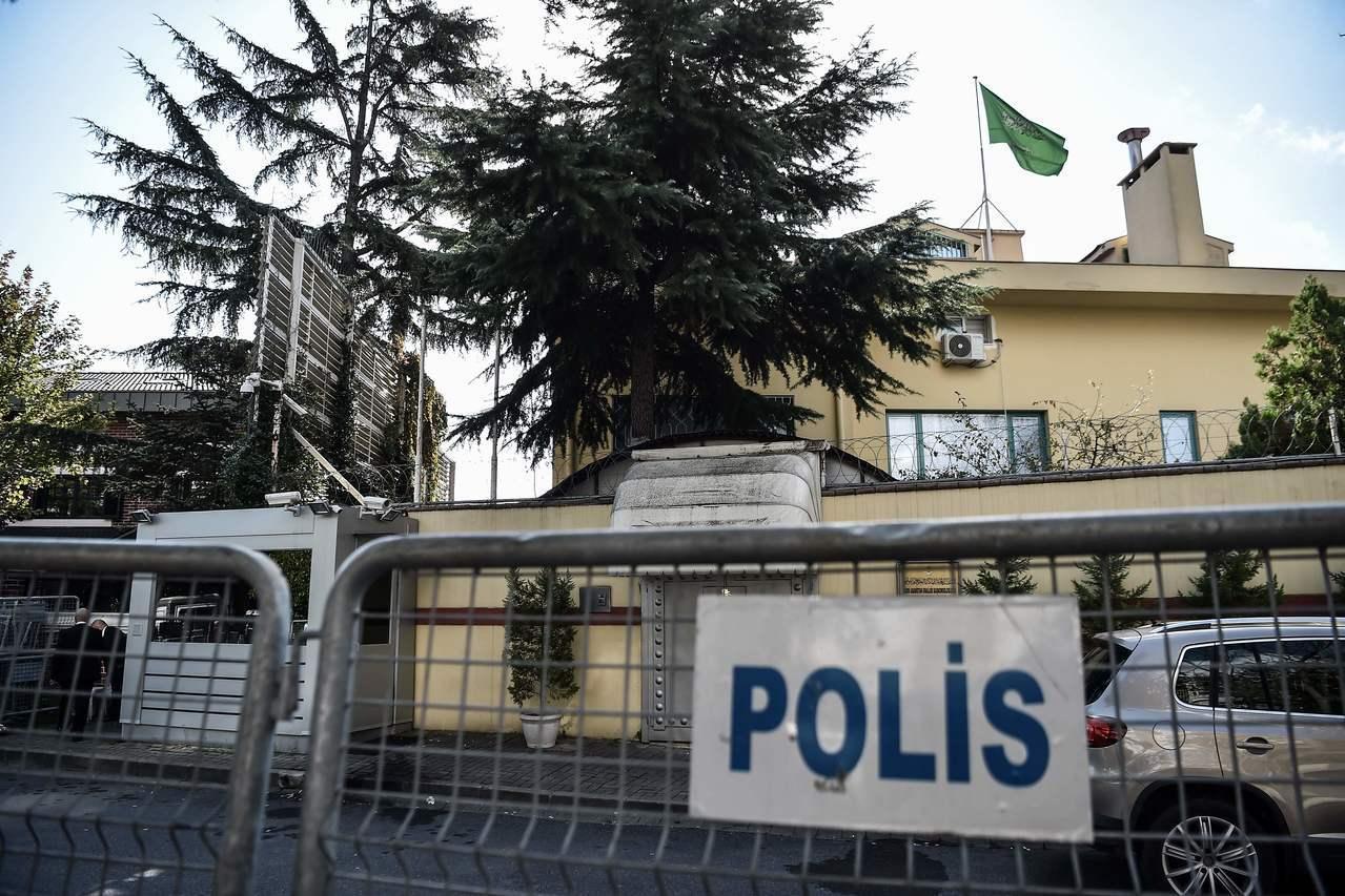 沙烏地阿拉伯駐土耳其伊斯坦堡的領事館愈來愈有可能就是失蹤記者哈紹吉遇害的第一現場...