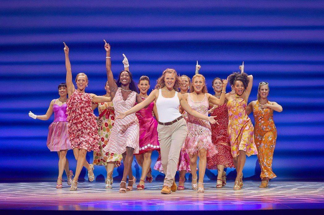 「媽媽咪呀!」音樂劇暌違9年將再度來台演出。圖/寬宏藝術提供