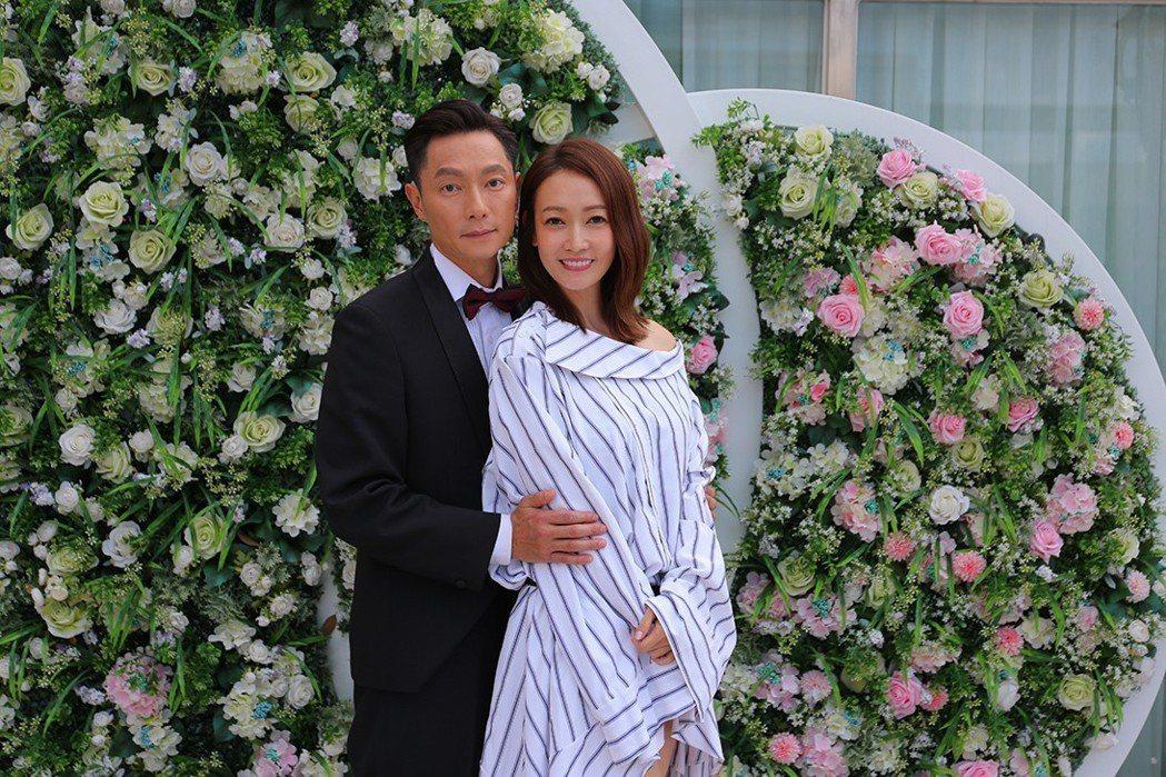 謝祖武(左)、潘慧如對戲充滿火花。圖/TVBS提供
