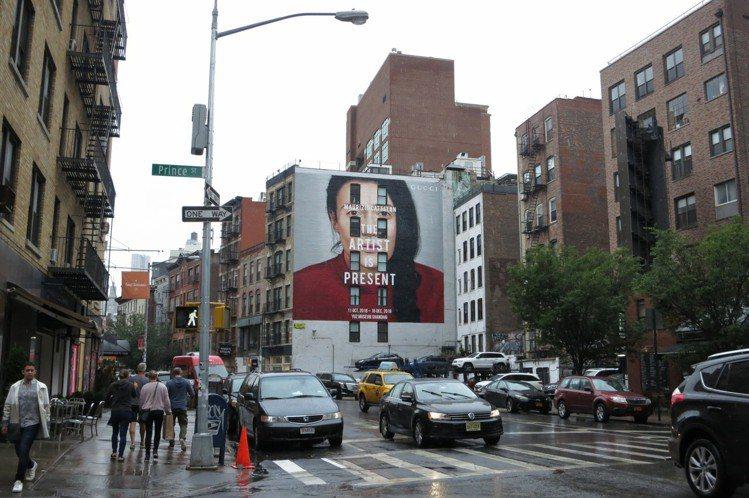 GUCCI位於紐約蘇活區拉法葉街(Lafayette Street)的「藝術家此...