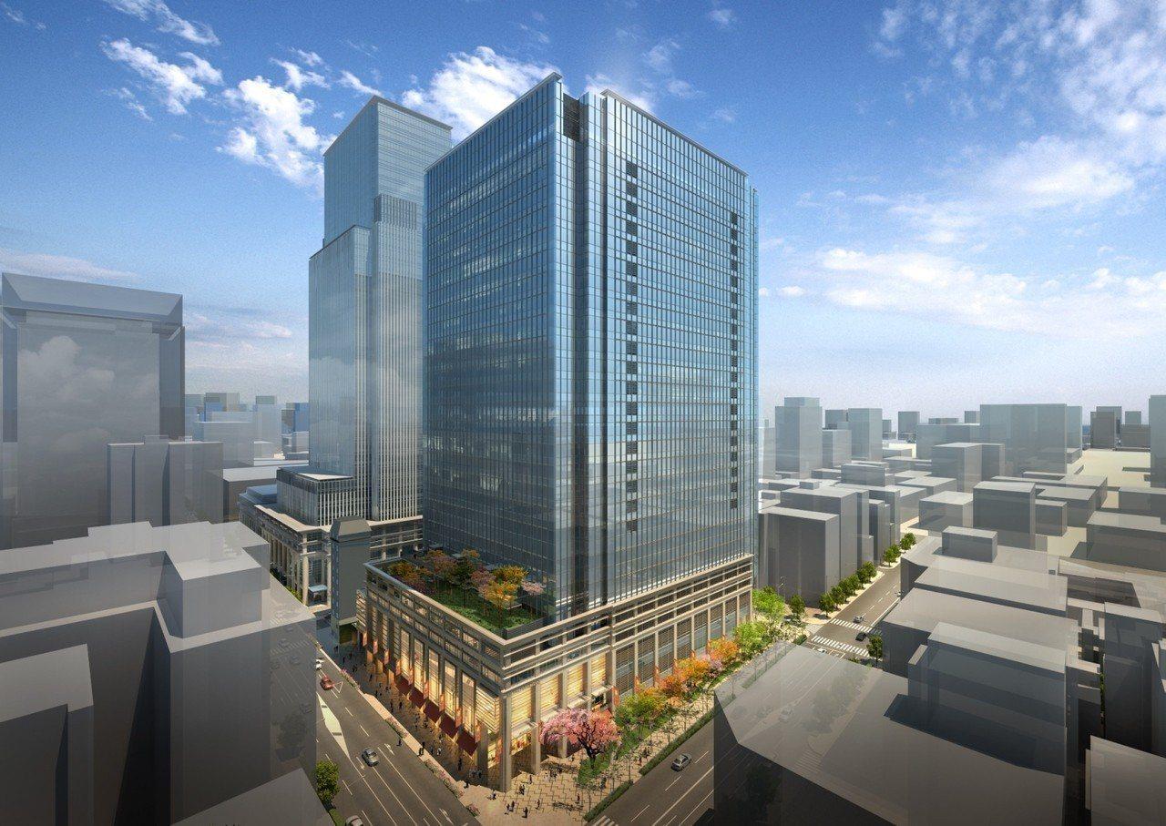 誠品日本首店將進駐「日本橋室町三井塔COREDO室町Terrace」。圖/誠品提...