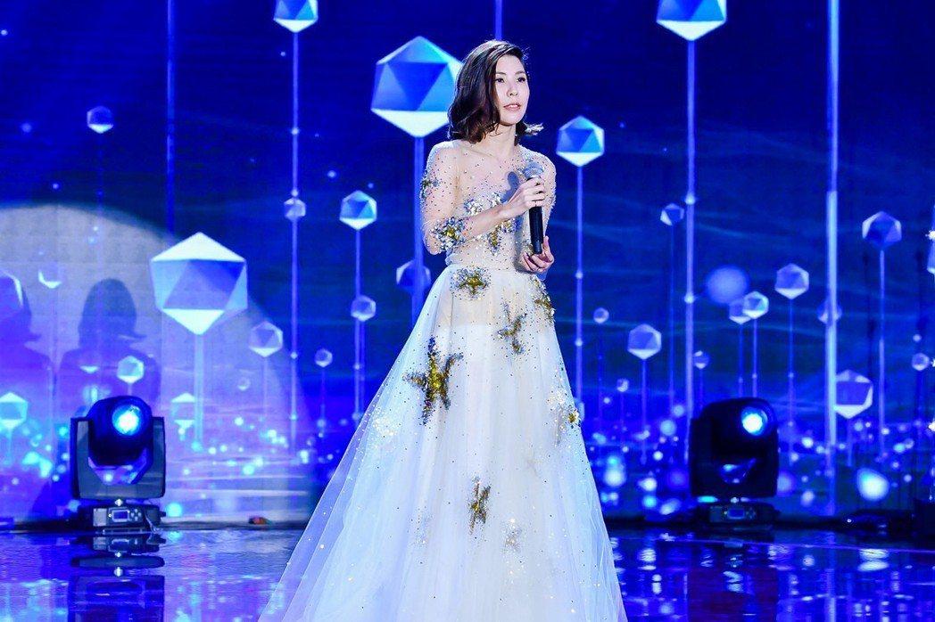 許茹芸擔任北京BAZAAR明星慈善夜壓軸嘉賓。圖/索尼音樂提供