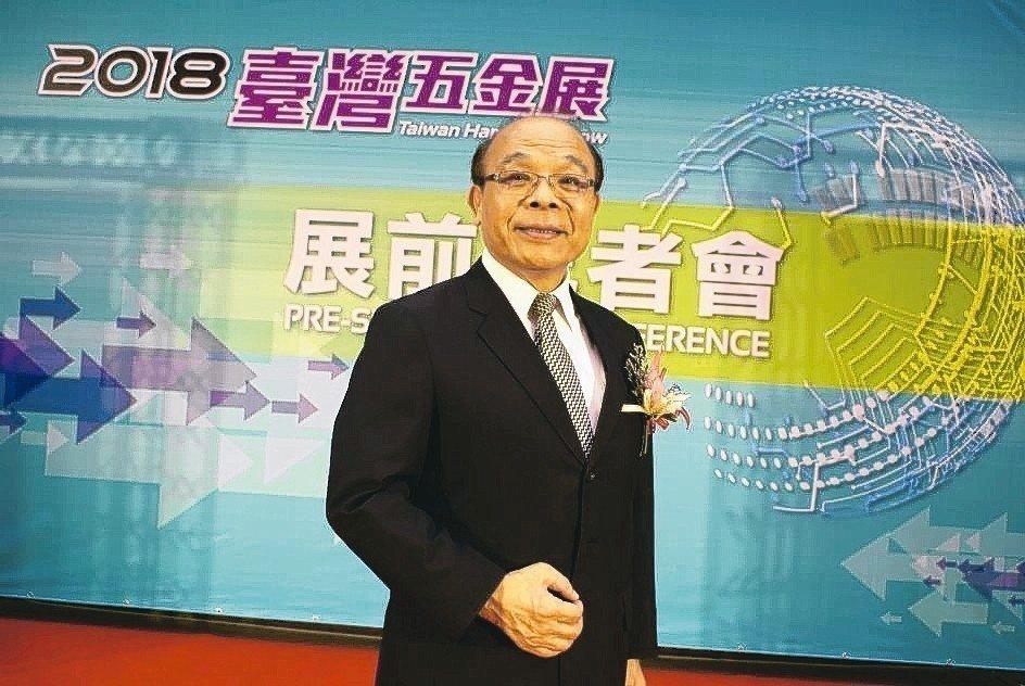 皇盈企業董事長黃信德。 吳青常/攝影
