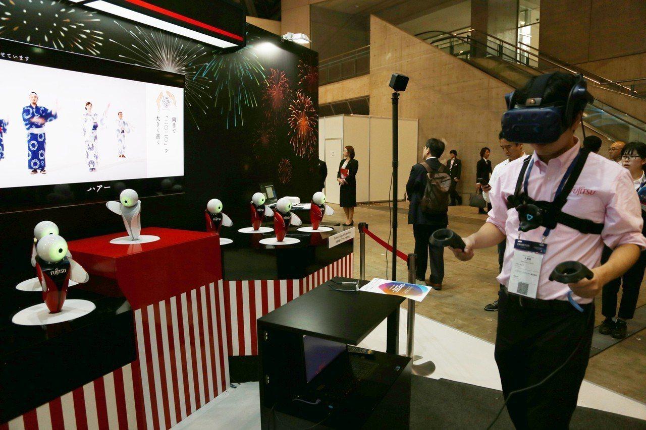 亞洲頂尖高科技商展「日本尖端電子資訊高科技綜合展」(CEATEC)16日在東京開...