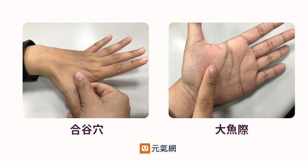 鍛煉手部關節:拇指伸直握拳反覆數次;按揉合谷穴(五指併攏時口的最高處),揉壓大魚...