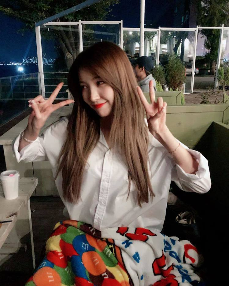 韓國女團GFRIEND的隊長Sowon。圖/擷自instagram