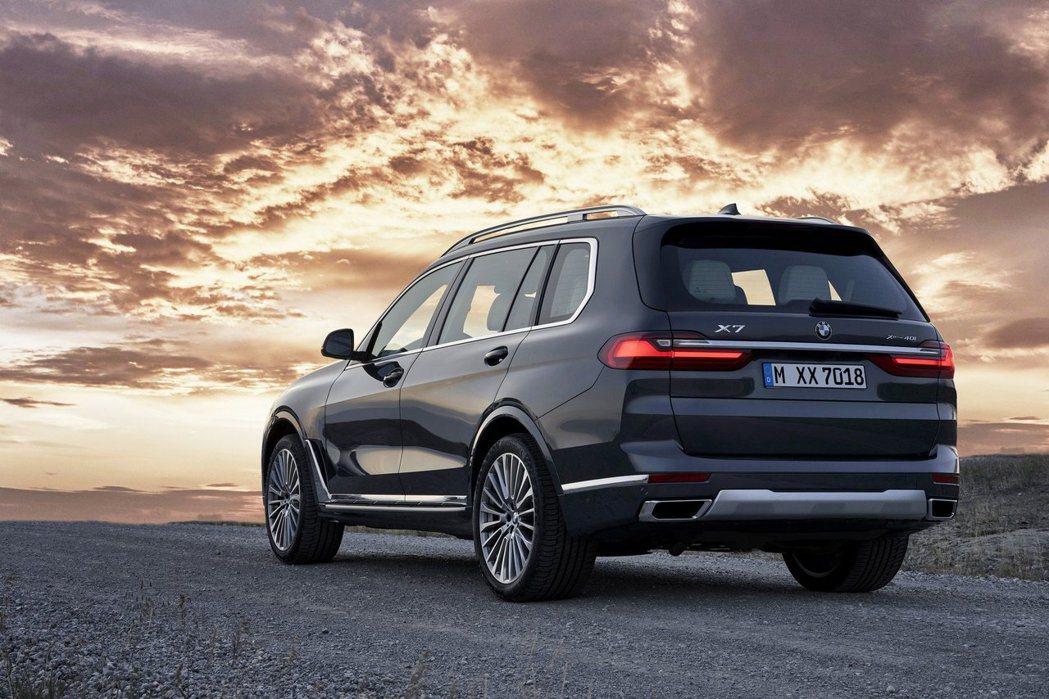 全新BMW X7正式亮相。 摘自BMW
