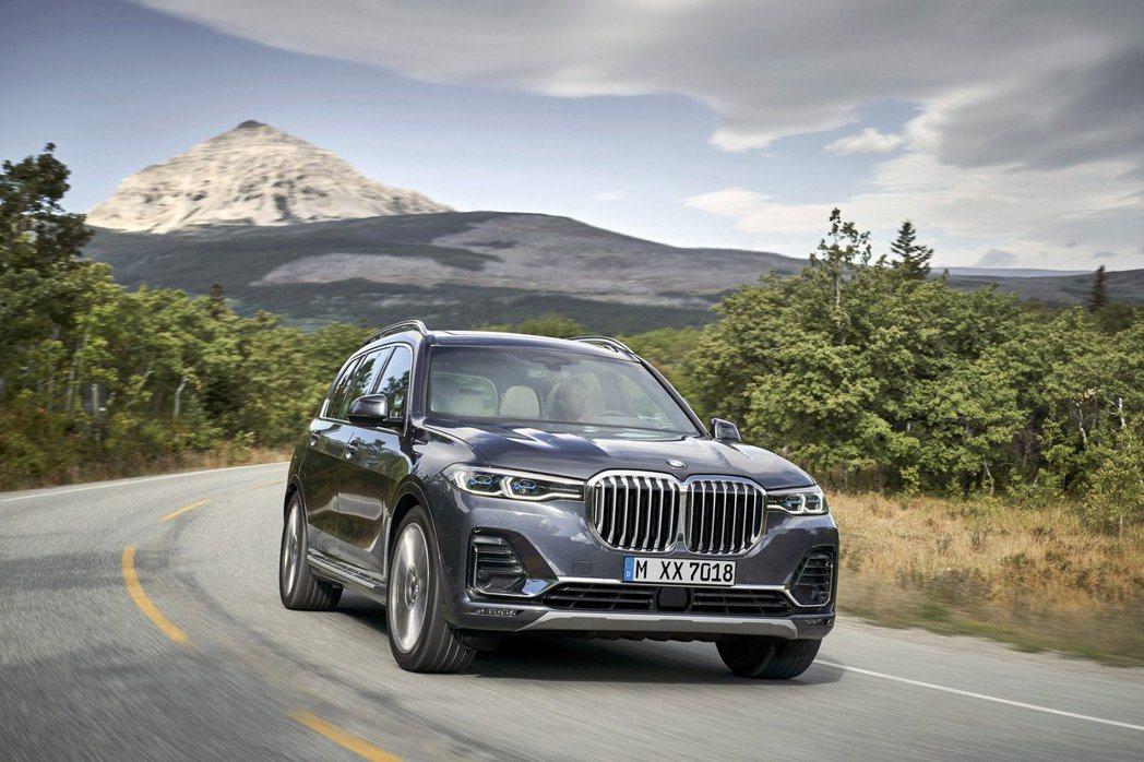 全新BMW X7。 摘自BMW