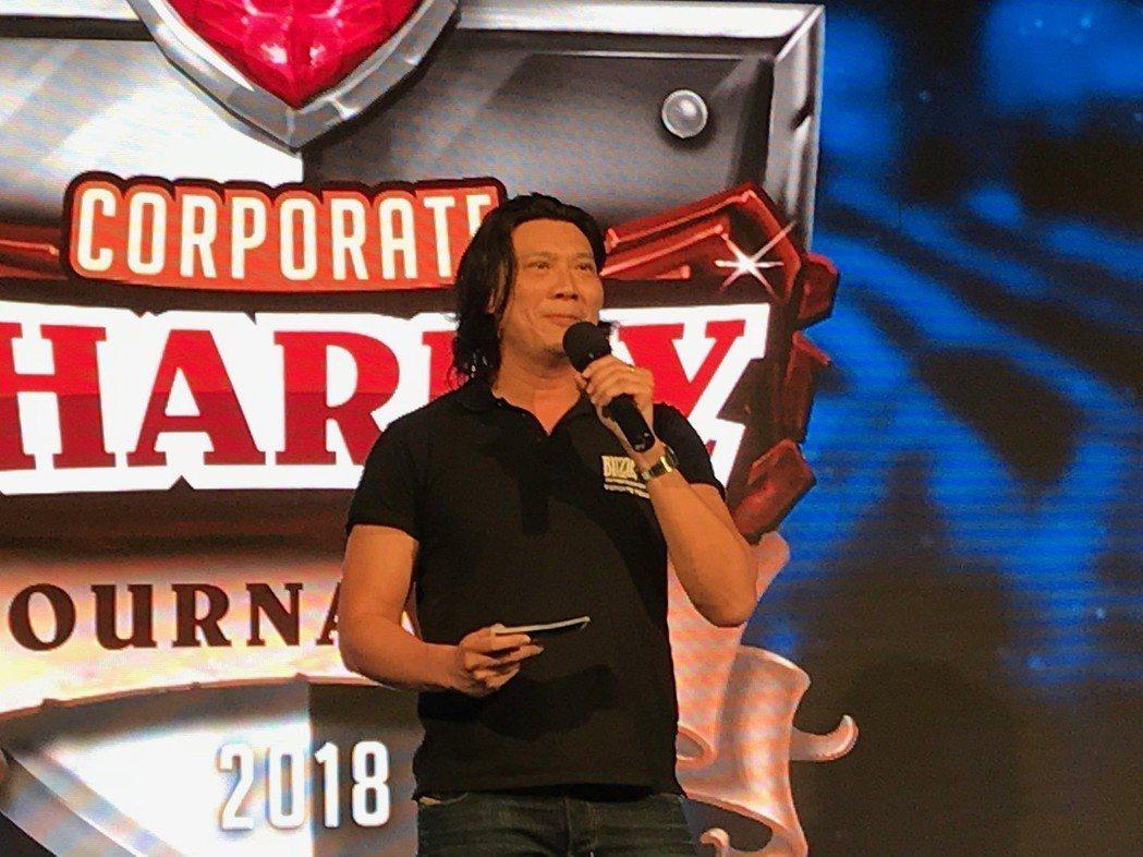 暴雪娛樂台灣、香港、東南亞董事總經理陳博一