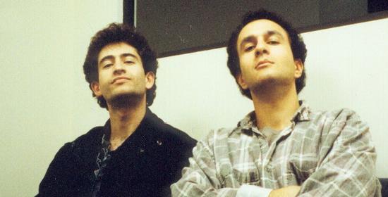 左為Mike Morhaime,右為Allen Adhem