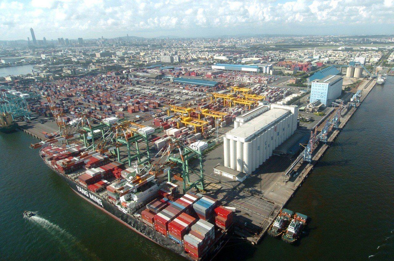 財政部統計處統計,我國主要貿易對象以亞洲國家為主,去年占我國總出口的72.4%,...