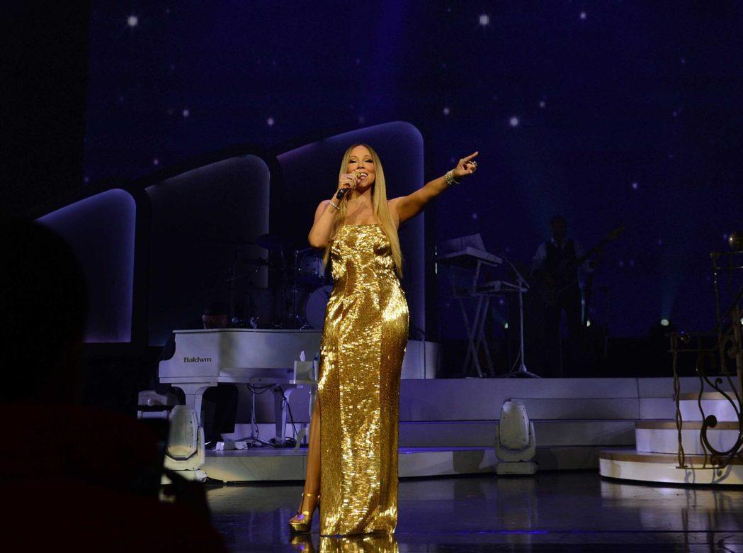 瑪麗亞凱莉明晚在林口體育館演唱。圖/晧星文化提供