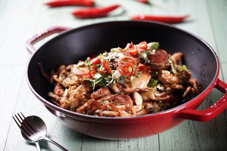 台中林酒店推出20道菜肴提供饕客選擇。圖/台中林酒店提供
