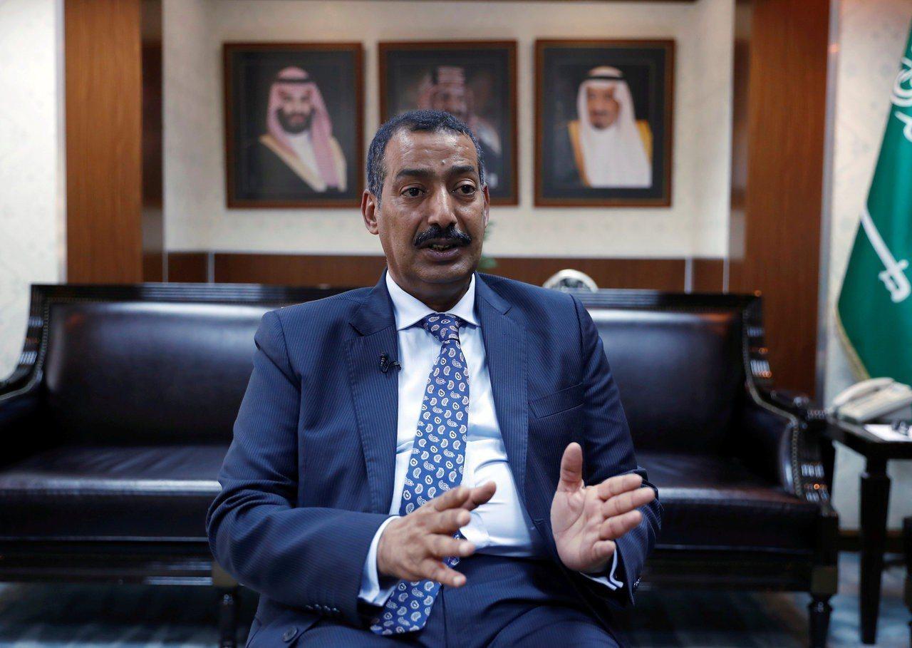 沙烏地阿拉伯駐土耳其總領事奧泰比6日接受媒體訪問。路透