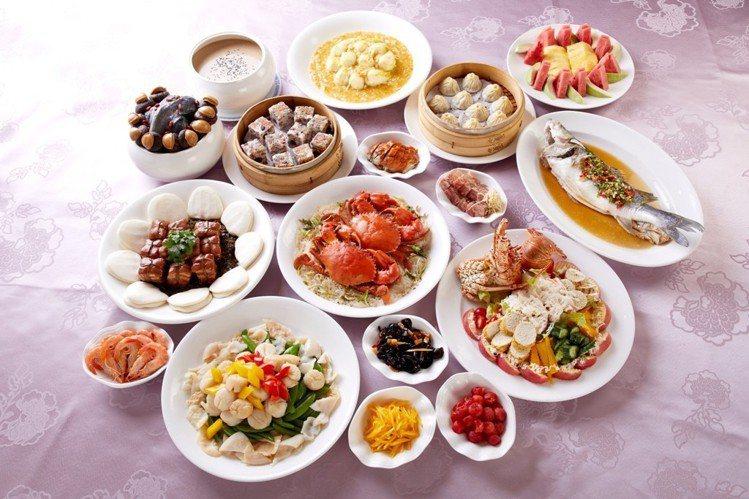 針對年底熱銷的桌菜券,線上旅展也有大優惠。圖/圓山飯店提供