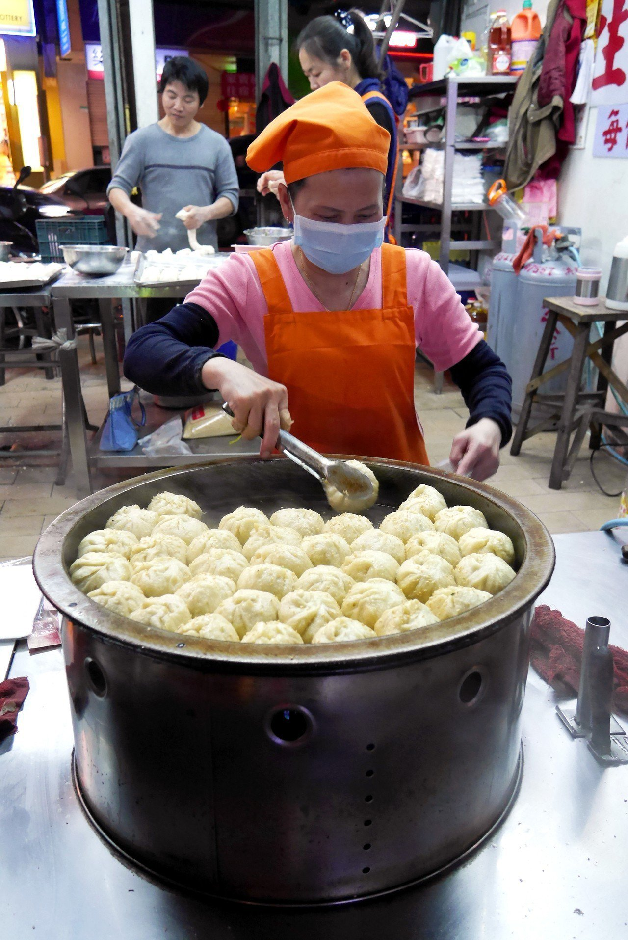 景美上海生煎包。圖/報系資料照