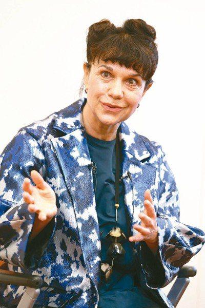 俄羅斯普希金國家藝術博物館長瑪麗娜.洛沙克。 記者曾學仁/攝影