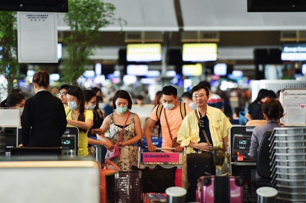 泰國曼谷素萬那普機場。 新華社資料照