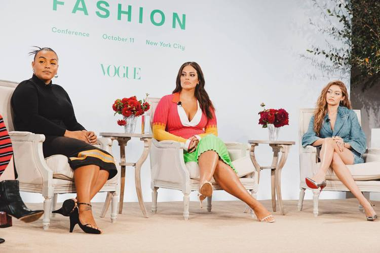 (左至右)Paloma Elsesser、Ashley Graham、Gigi ...
