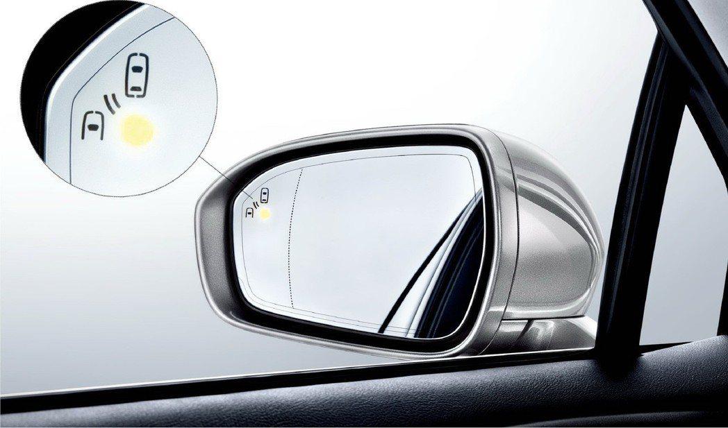 Ford Mondeo配備智慧安全輔助科技BLIS®視覺盲點偵測系統,貼心守護駕...