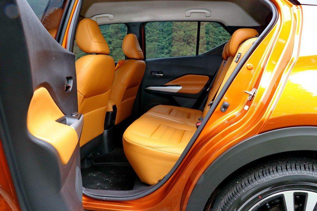座椅舒適度延續過往Nissan的形象。 記者陳威任/攝影