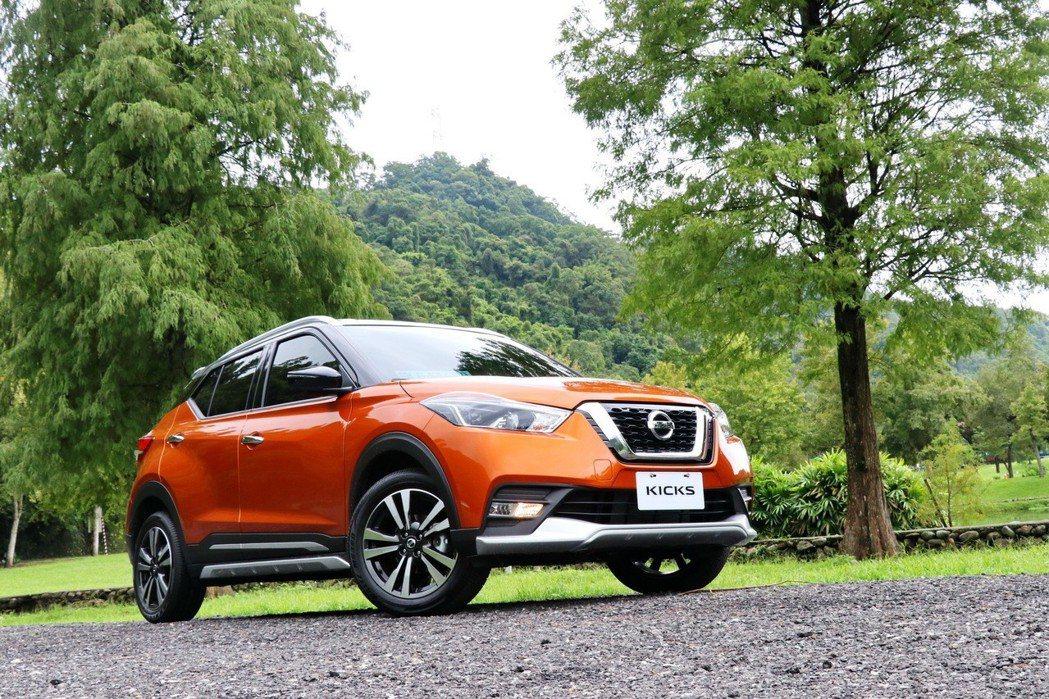 Nissan Kicks瞄準跨界休旅銷售之王。 記者陳威任/攝影